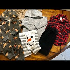 Baby Boy Clothes Lot- 18 Months, Various Brands